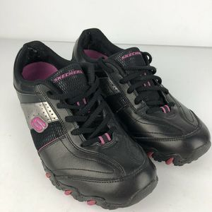Skechers  Athletic Black Pink Size 10